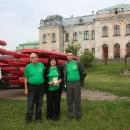 Х Міжнародний сплав на байдарках «Буг-2012».