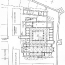 План домініканського монастиря на 1560 рік. Реконструкція Ф. Марковського