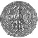Печатка князя Володислава з Опілля Опільського (+1401). 1379 р.