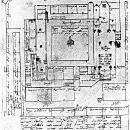 План домініканського монастиря в рукописі М. Груневега