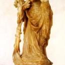 Статуя Матері Божої з Дитям, т. зв. Мадонна Яцкова. Німеччина, рубіж XIV/XV ст.