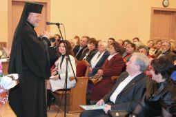 Владика Сокальсько-Жовківський Михаїл Колтун звертається з привітанням до ювіляра митця Анатолія Покотюка